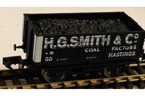 S3113NP - H G Smith & Co Pristine coal wagon  N Gauge