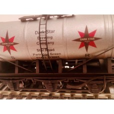S3138W- Dark Star Brewery  OO Tanker Weathered