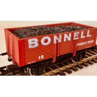 S3171P - Bonnell 7 plank pristine red oxide OO