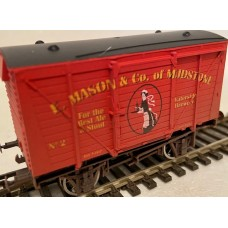 S3172W - E Mason & Co VB3 OO Bright Red Waterside Brewery Weathered