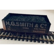 S3117W - HG Smith & Co 7 plank OO Weathered