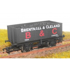 S2564P - Brentall & Cleland 7 Plank 00 Coal Truck (Pristine)