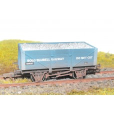 S2565W - Bluebell 00 5 Plank Coal Truck (Weathered)