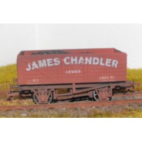 S2570W - James Chandler Coal 00 7 Plank (Weathered)