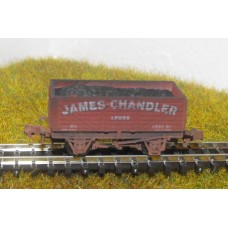 S2571NW - James Chandler Coal N 7 Plank (Weathered)