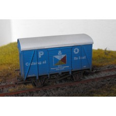 S2579W - P & O Cruises 00 Box Van (Weathered)