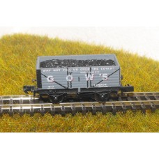 S2581NP - Gow's of London N 7 Plank Coal Truck (Pristine)