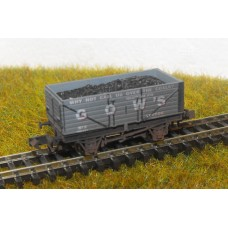 S2581NW - Gow's of London N 7 Plank Coal Truck (Weathered)