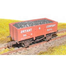 S2589W - Bryant & Company 00 5 Plank Coal Truck (Weathered)