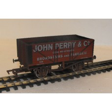 S2591W - John Perry & Co. 7 Plank Coal Truck (Weathered)