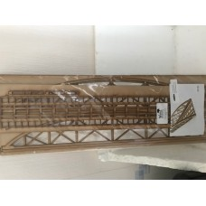 SA003 - Single Track Laser-cut Bowstring Bridge - 00 Gauge (produced by WWS)